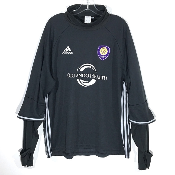 buy online 65179 d3172 Orlando City SC Soccer ClimaCool Training Jersey